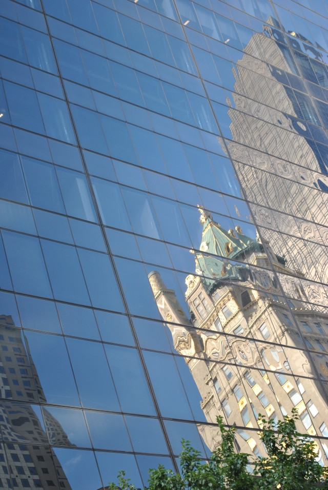 Mirrored Building
